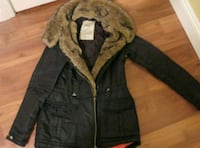 Zara Jacket with fur collar