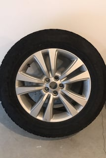 Set of 4 winter tires + wheels for 2016 Lincoln MKX