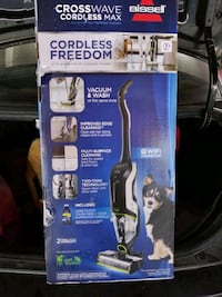 Brand New Never Opened Bissell Crosswave Cordless Max