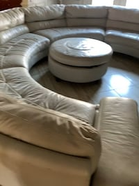 white leather tufted sofa chair Springfield, 22150