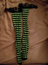 Buckle green and black stripped tights  Albuquerque, 87123