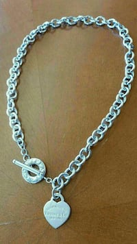 """Authentic Return To Tiffany Necklace 19"""" Vernon Hills, 60061"""