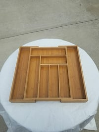Totally Bamboo Large Expandable Cutlery Tray Nashville, 37214