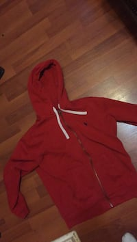 Red polo hoodie  St. Louis, 63116