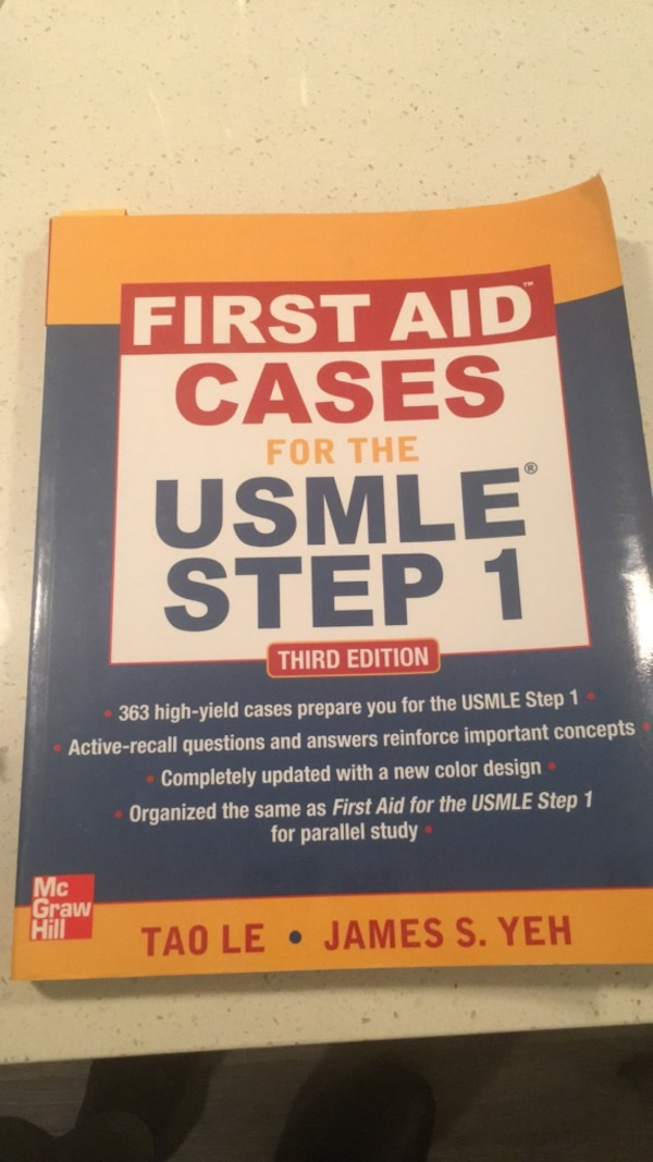 First Aid Cases for USMLE step 1