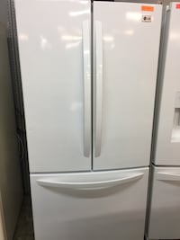 Lg white French door refrigerator y
