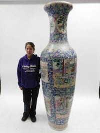 7 FOOT Chinese Vase