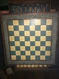 Antique chessboard  South-West Oxford, N0L