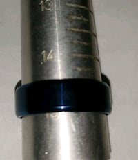 Stainless steel blue band