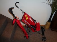 Babies R US Red Stroller with Canopy NEW  Ashley