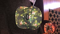 black and yellow floral print cap Lewisville, 75067