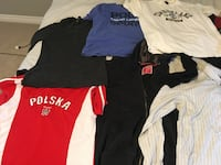 Used designer t shirt lot /ten shirts all for $45 Toronto, M6G