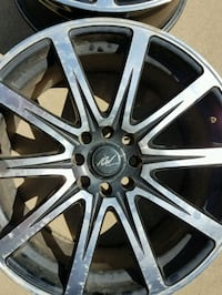 1 pair of 17 inch rims  Sioux Falls, 57107