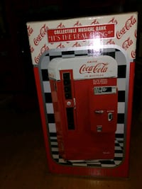 Musical vending machine coca cola