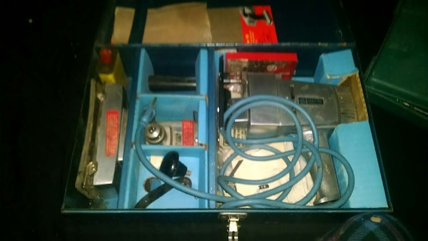 Used Vintage Ge Portable Power Tool Kit For Sale In