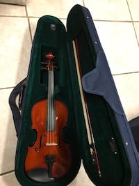 Used Frederick A  Strobel violin & accessories for sale in