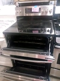 Ge stainless steel stove electric brand new scratc Baltimore, 21223