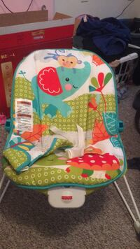 baby's multicolored bouncer Gilbert, 29054