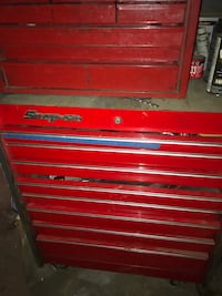 Snap-On tool box lower and upper no tools included Wilmington, 19804