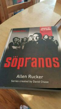 Sopranos soft cover book