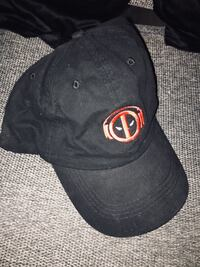 MARVEL DEADPOOL LOGO ADULT ADJUSTABLE HAT/CAP BRAND NEW  211 mi