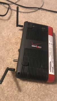 black and red Verizon modem router Alexandria, 22312