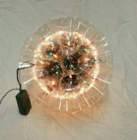 Christmas sparkle ball decoration good condition