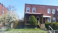 HOUSE For Rent 3BR 1.5BA Baltimore