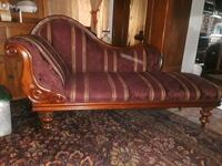 brown wooden framed brown and red floral padded sofa San Jose, 95125