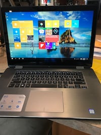 Dell touchscreen 4k inspiron 15 7000 series laptop computer Woodbury Heights, 08097