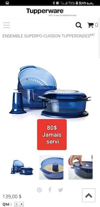 blue and black Kitchen Aid stand mixer Lévis, G6V 4R1