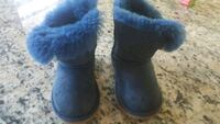 pair of blue UGG Bailey Button boots Falls Church