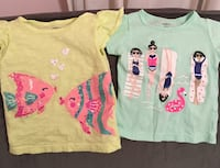 Baby girls 12 month t-shirts
