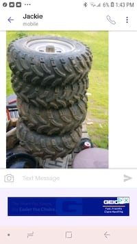 Quad tire need gone asap