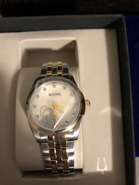 New bulova woman's watch with diamond hearts Rockville, 20850