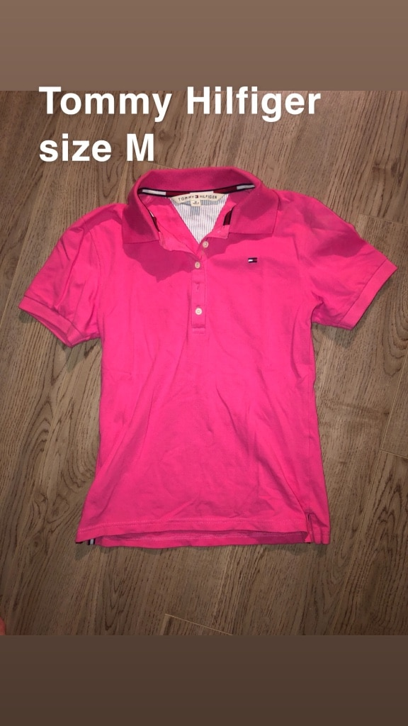 Women's Tommy Hilfiger polo top (new)
