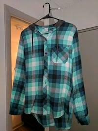 green, white, and black plaid sport shirt Knoxville, 37916