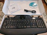 Wireless keyboard (!!missing USB receiver!!) Oakton, 22124