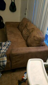 brown fabric sectional Los Angeles, 91367