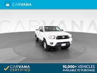 2014 Toyota Tacoma Double Cab pickup PreRunner Pickup 4D 5 ft White Petersburg