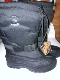 pair of black kamik boots Châteauguay, J6J 1P9