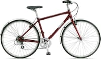 Jamis City hybrid commuter bicycle