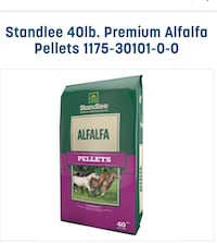 4 bags of Alfalfa hay pellets  Greer, 29651
