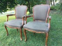 Delivery-pair of antique French chairs Mississauga, L5H 1S3