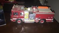 Limited addition skywalker ranch scale model fire engine