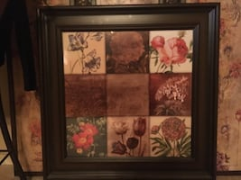 Nine-collage photo wall art decor