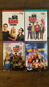 Brand new Big Bang Theory on DVD Caledon