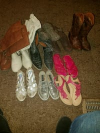 toddler's assorted pairs of shoes Stafford, 77477
