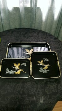 Lacker Serving trays