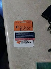 10.00 Boost Mobile Top-Up  Kingsport, 37664